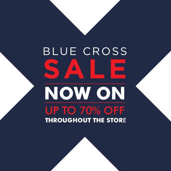 Blue X Sale
